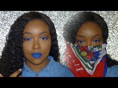 Haitian Flag Day Inspired Makeup Tutorial | SHEISROYALTY 👑