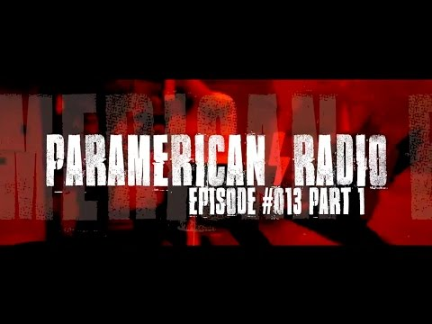 PARAMERICAN RADIO PODCAST #13 (PART 1): CALLEN'S GHOST HUNT, THE FLINT MURDER CONSPIRACIES AND MORE!