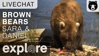 Rangers Sara and Daniel - Katmai National Park - Live Chat thumbnail