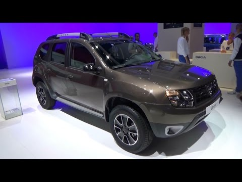 2017 dacia duster black touch exterior and interior paris auto show 2016 youtube. Black Bedroom Furniture Sets. Home Design Ideas