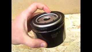 Масляный фильтр Wix изнутри