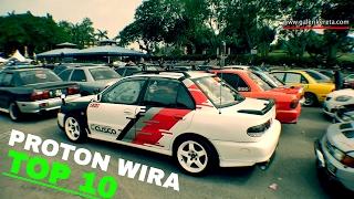 Proton Wira Best Modified Compilation 2016