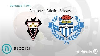 Albacete vs At. Baleares full match