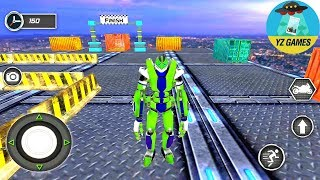 Impossible Moto Bike Tracks Robot Transformation | Android GamePlay FHD