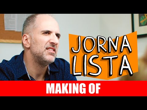 Jornalista – Making Of
