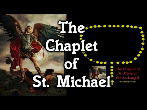The Chaplet of St. Michael (virtual beads)