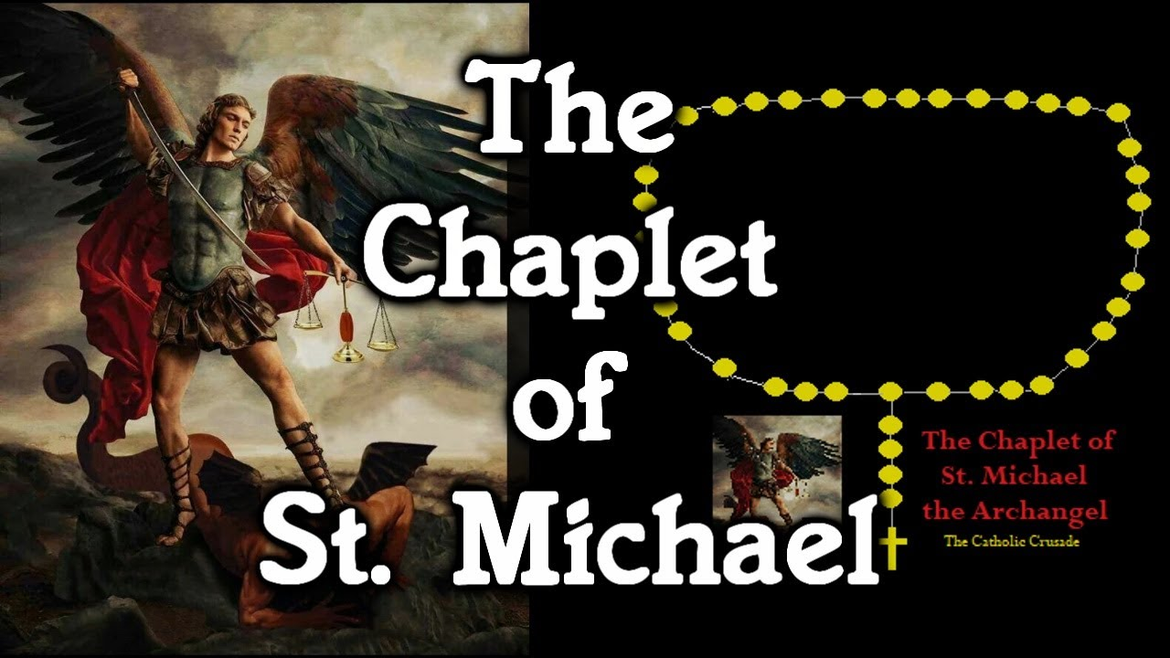 The Chaplet Of St Michael Virtual Rosary Beads Youtube