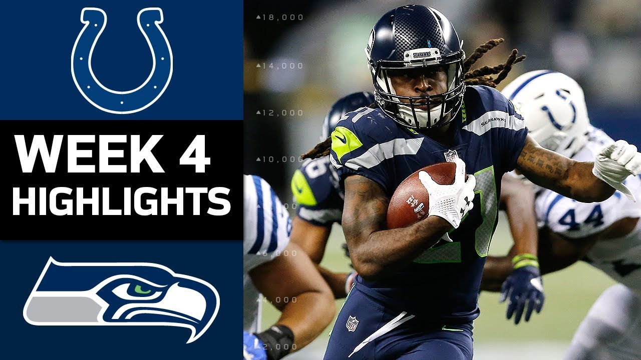 Colts vs seahawks nfl week 4 game highlights youtube colts vs seahawks nfl week 4 game highlights voltagebd Gallery