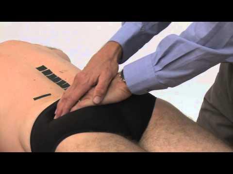 Examen des tissus mous décubitus