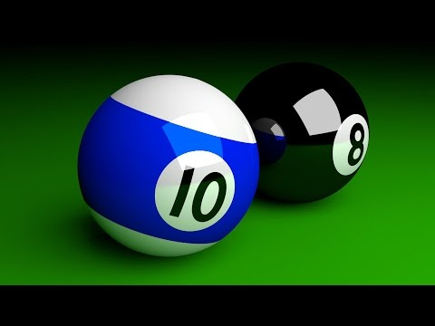 Blender Tutorial For Beginners: Pool Balls