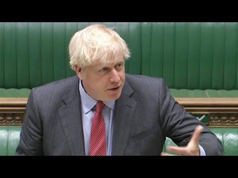 LIVE: Boris Johnson announces second Covid-19 shutdown in the Commons