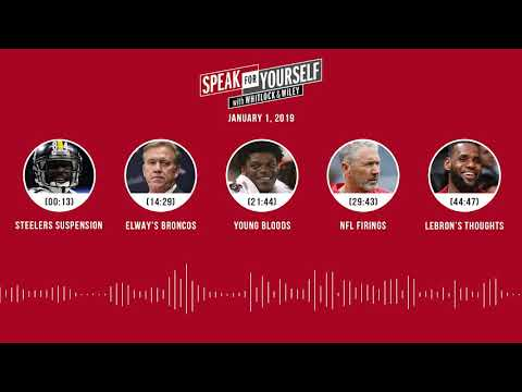 SPEAK FOR YOURSELF Audio Podcast (1.1.19) with Marcellus Wiley, Jason Whitlock | SPEAK FOR YOURSELF