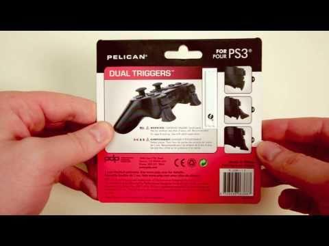 Pelican PS3 Triggers Unboxing (GET MORE KILLS!)