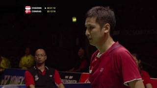 R16 - MD - A.Chandra/H.Gunawan vs M.Conrad-Petersen/J.Rasmussen -Yonex BWF World Champs '11