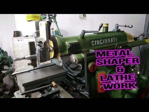 SWEET !! Metal Shaper and Lathe work ;-)