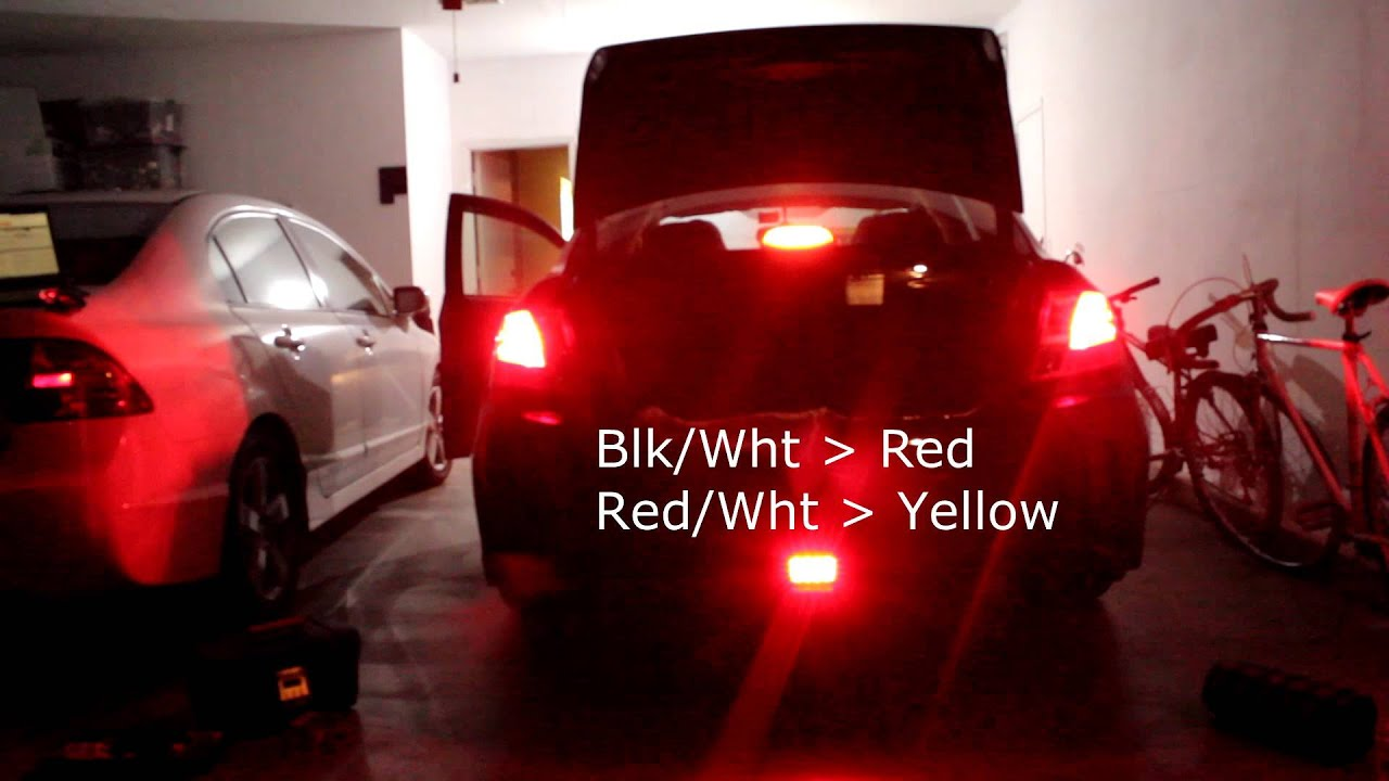 Wrx Light Wiring Diagram Just Wirings Subaru Impreza 2002 2014 Chargespeed F1 Style Brake Fog Lights Youtube Rh Com 2006 Headlight