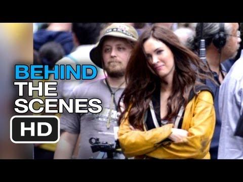 Ninja Turtles Movie - Behind the Scenes Part 2 (2014) - Megan Fox, Michael Bay Movie HD