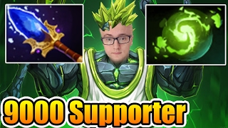 Best 9000mmr Supporter Earth Spirit by Miracle- Dota2 7.02