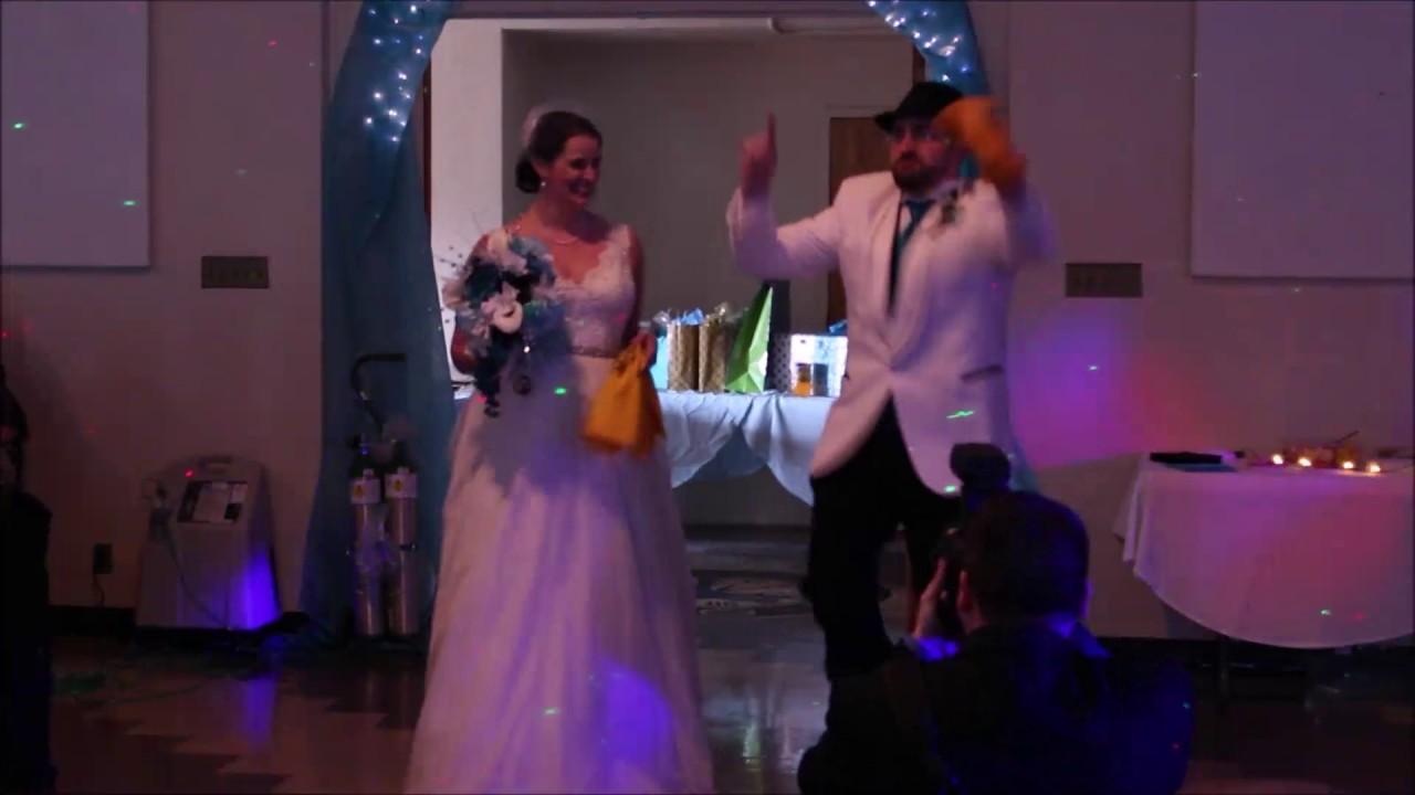 Hulk Hogan Wedding Reception Entrance - YouTube