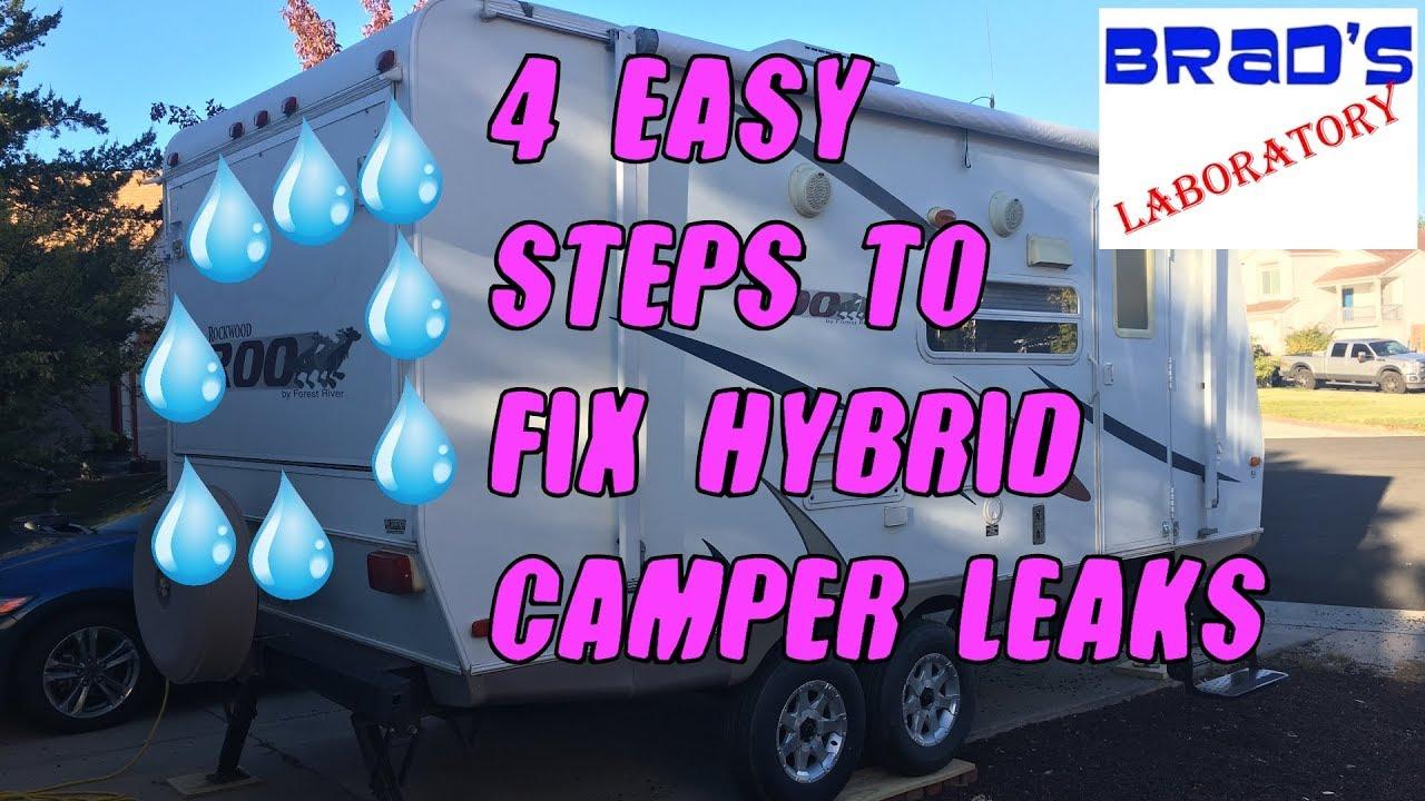 FIXING HYBRID CAMPER LEAKS
