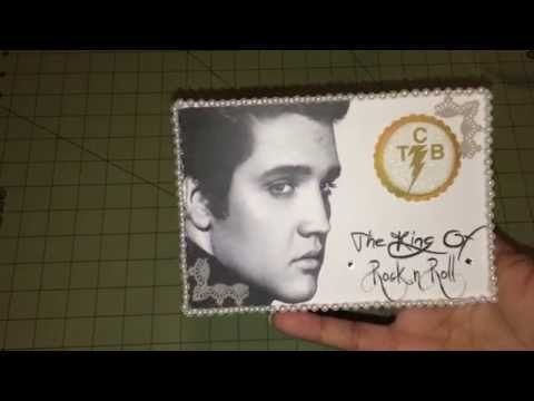 Elvis Presley Postcard -Teresa's Creation
