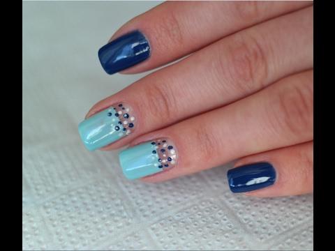 Покраска ногтей гель лаком в домашних условиях, фото и 79