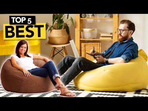 ✅ TOP 5: Best Bean Bag Chairs 2021