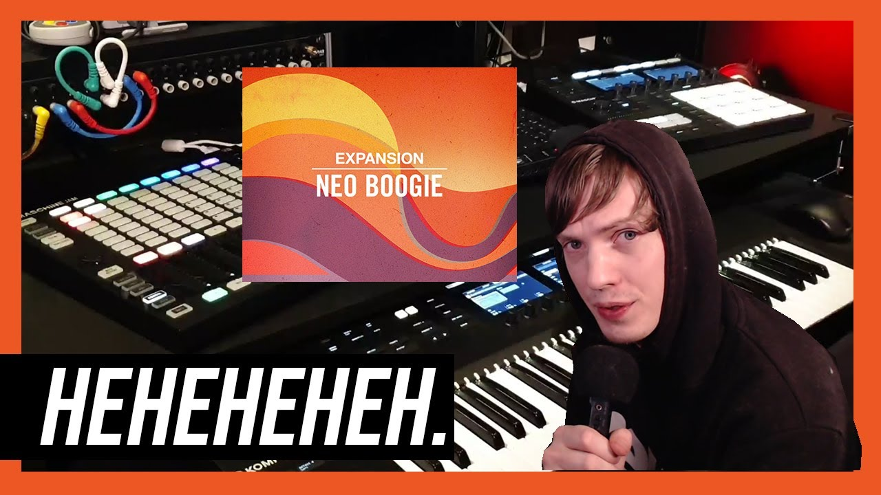 Maschine Beatmaking | Made Some Poop With NEO BOOGIE Expanzione