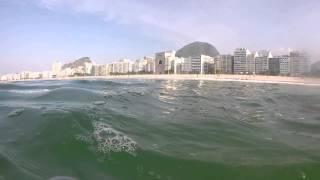 Утреннее плавание в Атлантическом океане (смотреть до конца)