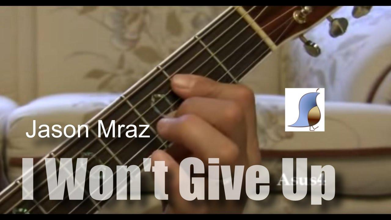 Jason Mraz I Wont Give Up Easy Guitar Lesson Youtube