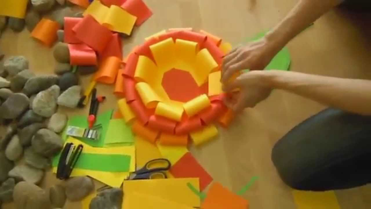Big paper flower youtube for Fomic sheet decoration youtube