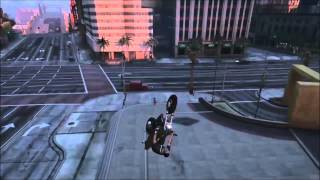 GTA 5 - Funny Stunts #1   Move Bitch (Get Out The Way)