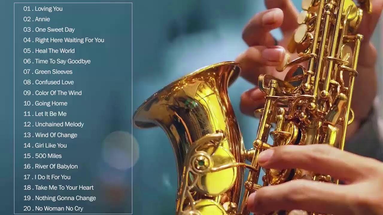 Las Mejores Canciones Románticas De Saxofón De Todos Los Tiempos La Mejor Música Dulce En Inglés Youtube