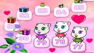 МОЯ   ГОВОРЯЩАЯ АНДЖЕЛА  МОЙ ВИРТУАЛЬНЫЙ ПИТОМЕЦ #304 Мультик про котиков #УШАСТИК KIDS