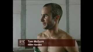 1998, Tom McGuirk, European Athletics Championships, 400mH, Rd 1