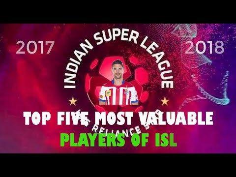 """MoSt VALUABLE players of ISL"" -2017-18"