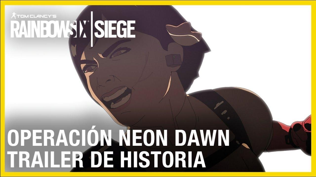 Rainbow Six Siege - Neon Dawn Tráiler de Historia   Ubisoft LATAM