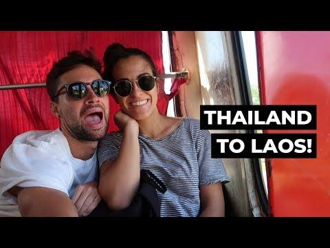 Thailand To Laos Slow Boat, Part 1 | Chiang Rai To Chiang Khong By Bus