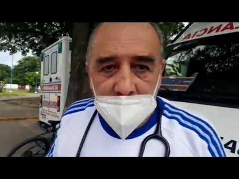 ORAN no permiten retirar dos ambulancias del hospital