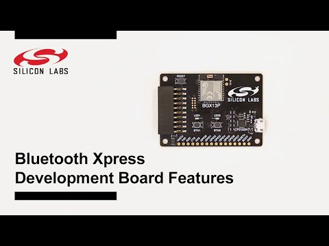 Bluetooth Xpress Development Board - Features
