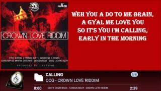 ocg calling lyrics 2016