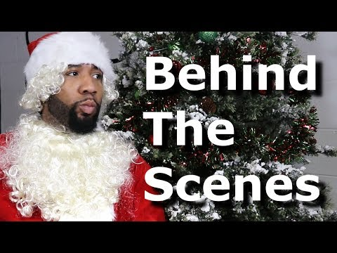 Hip-Hop Santa! (Behind The Scenes) @TheKingOfWeird 😂🎅🏾🔥🎄