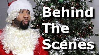 Hip-Hop Santa! (Behind The Scenes) @TheKingOfWeird 😂🎅🏾🔥🎄
