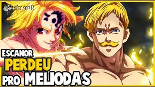 "MELIODAS DERROTOU ESCANOR ""THE ONE"", ORIGEM DO ESCANOR - NNT CAP. 327"