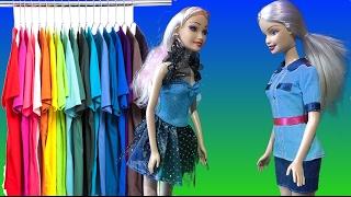 Барби 2017 сериал Барби обокрали полиция в магазине одежды, Барби ТВ