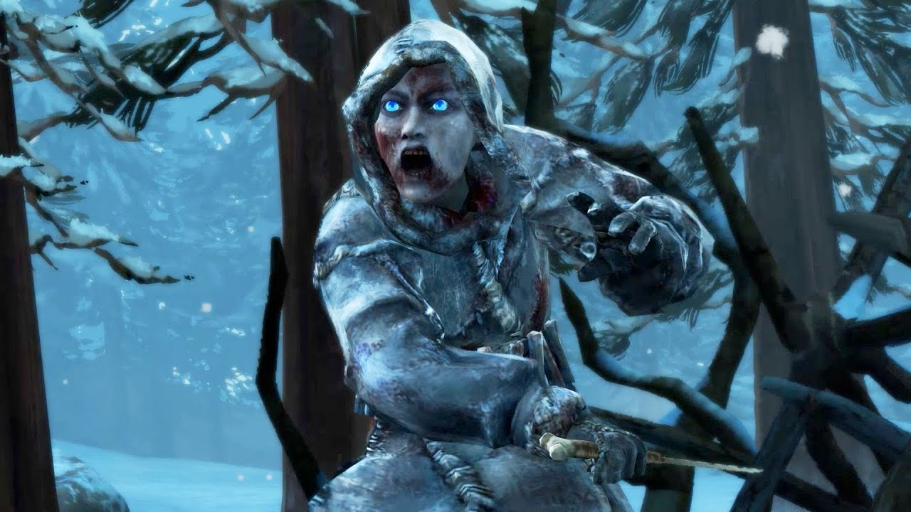 Ice Zombies Attack Wights Fight Game Of Thrones Telltale Episode 5 White Walkers Youtube