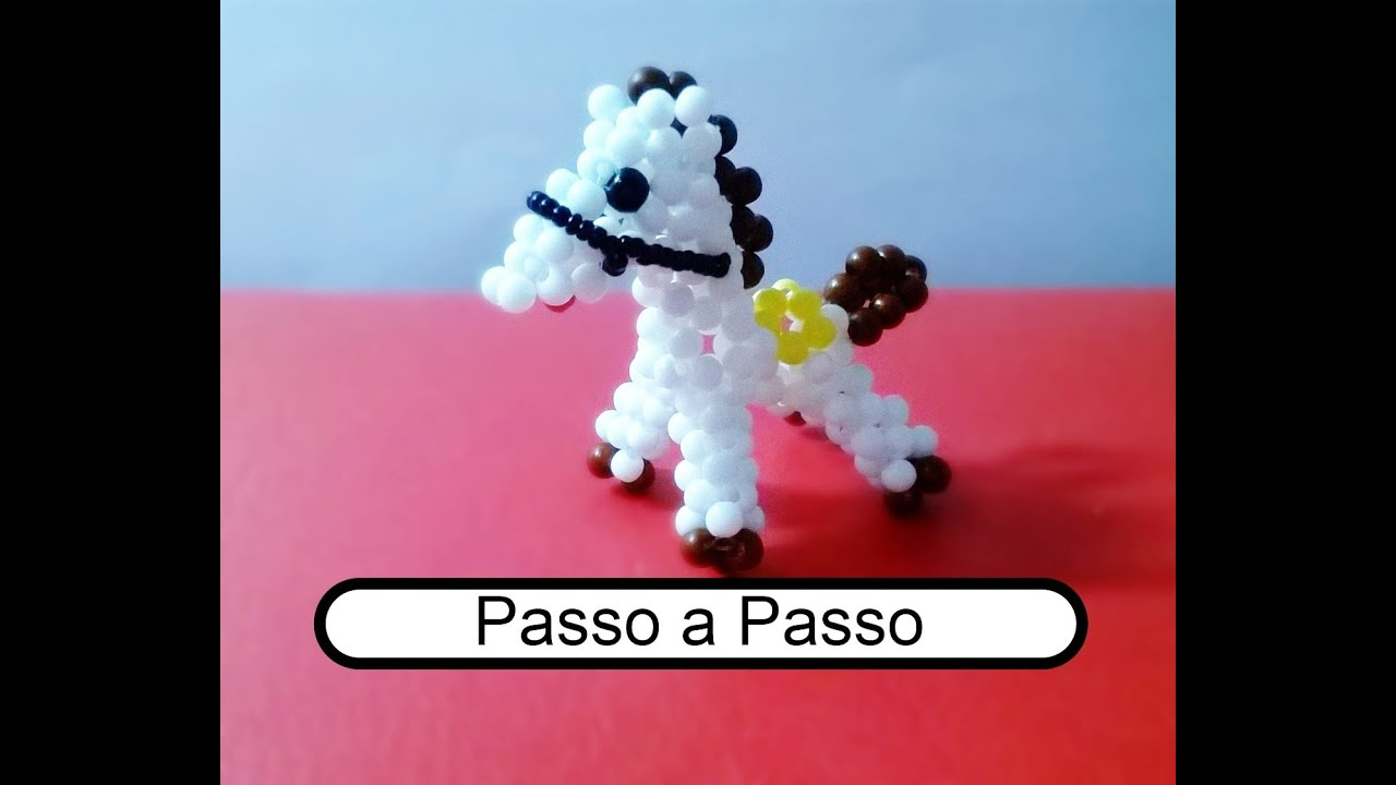 Fabuloso Cavalo com Miçangas Passo a Passo. - YouTube MN14