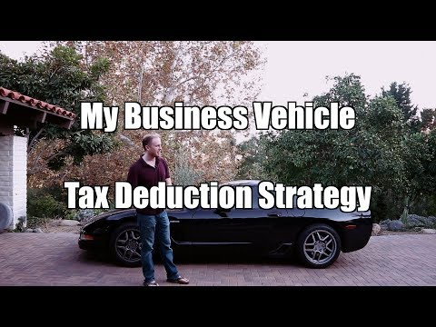 My Tax Deduction Strategy For Business Vehicle Expenses