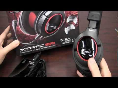 CGRundertow SHARKOON XTATIC SR SURROUND HEADSET Video Game Accessory Review