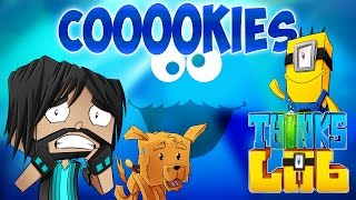 COOKIE MONSTER!! | Think's Lab Minecraft Mods [Minecraft Roleplay]